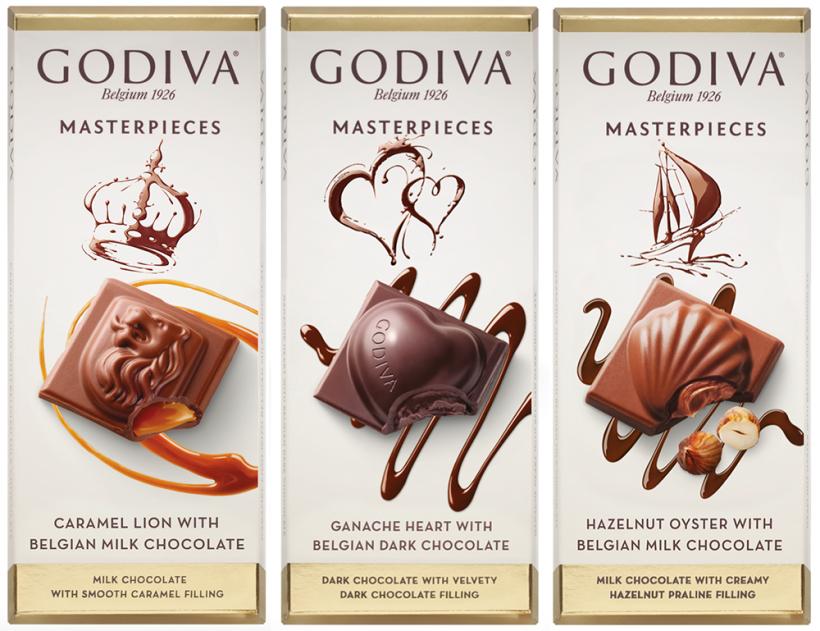 Godiva masterpieces chocolate