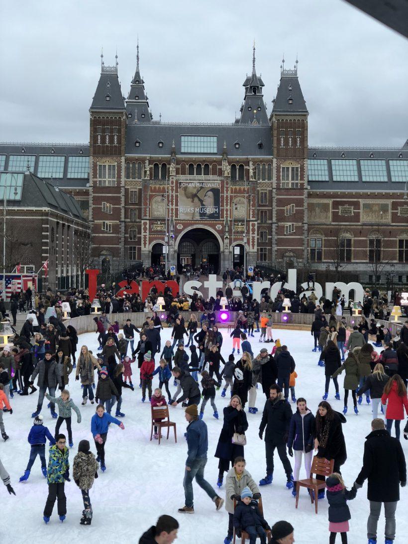 Amsterdam museumplein Sarandaadriana